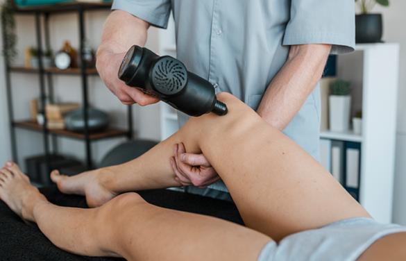 massage gun for Plantar Fasciitis
